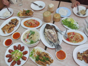 lunch in Ubon