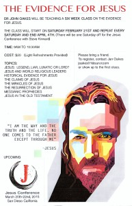 Evidence for Jesus Flyer